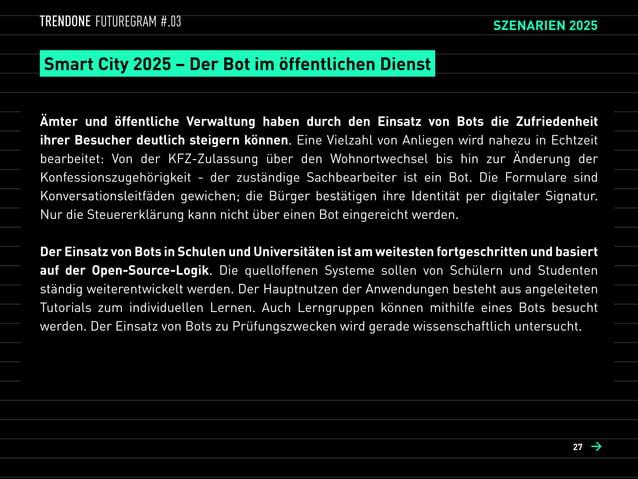 Medien 2025 – Der Bot als Content Jockey  Social Media Profile wurden durch User-Interfaces abgelöst, die sämtliche Inhal...