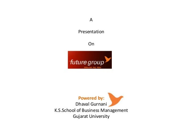 A Presentation  On  Powered by: Dhaval Gurnani K.S.School of Business Management Gujarat University
