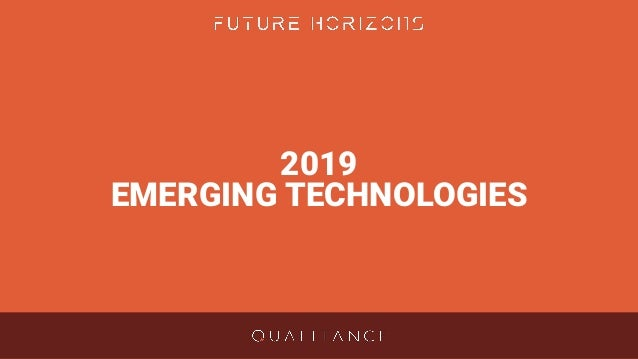 top 5 emerging technologies