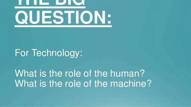 The Future of Human Technology Interaction Slide 3