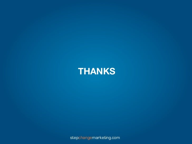THANKSstepchangemarketing.com