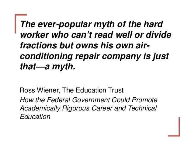 The Future of Career and Vocational Education
