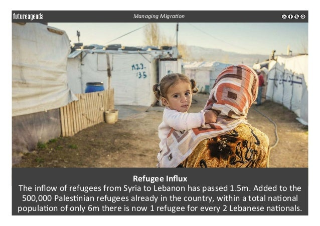 Refugee  Influx     The  inflow  of  refugees  from  Syria  to  Lebanon  has  passed  1.5m.  Add...