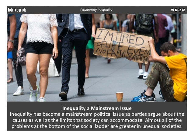 Inequality  a  Mainstream  Issue   Inequality  has  become  a  mainstream  poli3cal  issue  as  pa...