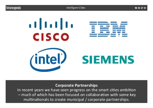 Corporate  Partnerships   In  recent  years  we  have  seen  progress  on  the  smart  ci3es  am...