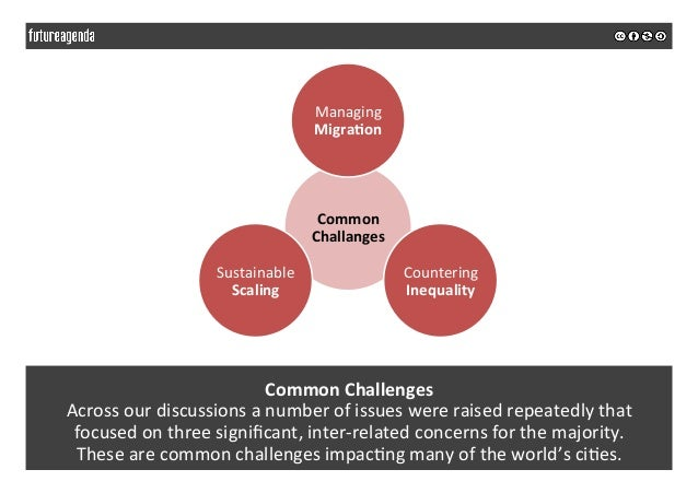 Common  Challenges   Across  our  discussions  a  number  of  issues  were  raised  repeatedly  th...