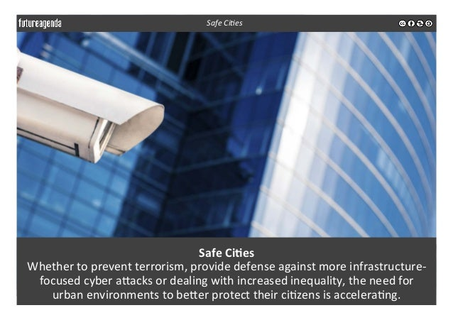 Safe  Ci-es   Whether  to  prevent  terrorism,  provide  defense  against  more  infrastructure-‐ foc...