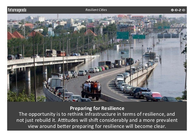 Preparing  for  Resilience   The  opportunity  is  to  rethink  infrastructure  in  terms  of  res...