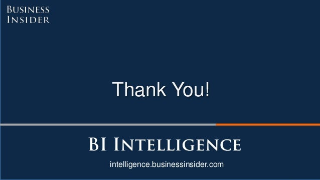 Thank You! intelligence.businessinsider.com
