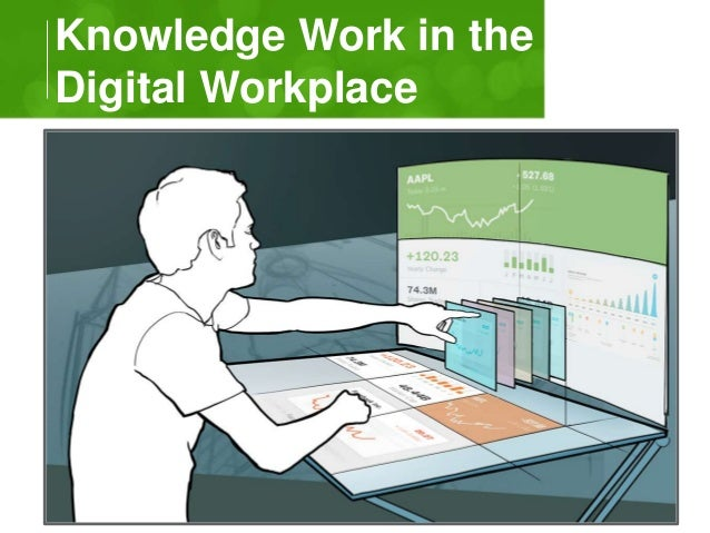 Knowledge Work in the  Digital Workplace