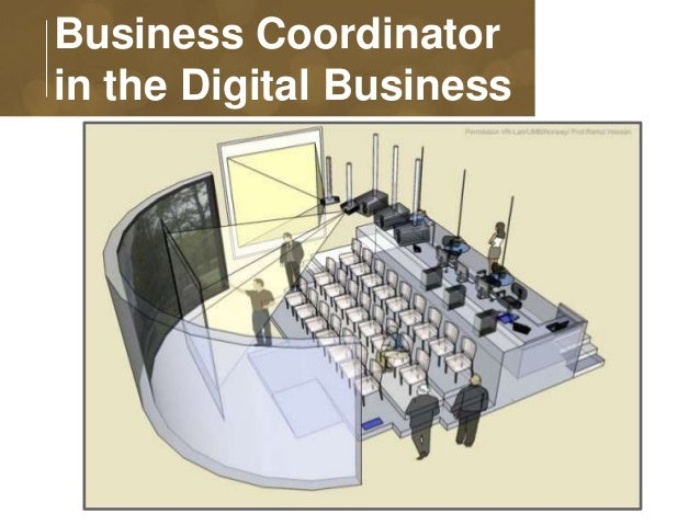 Business Coordinator  in the Digital Business