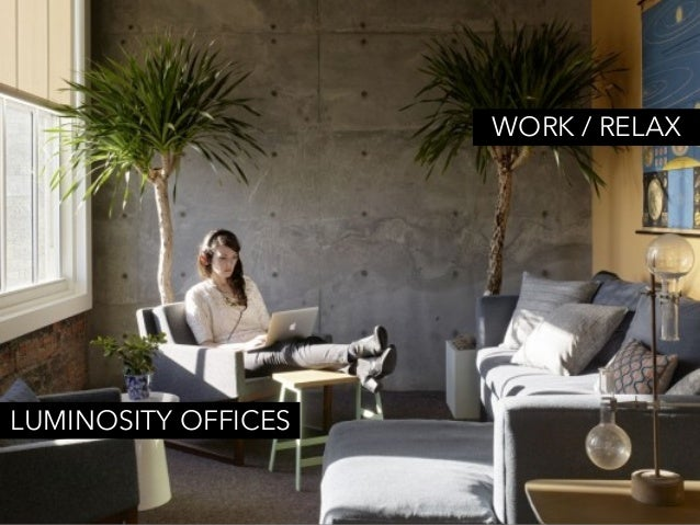 WEWORK OFFICES PART LIVING ROOM, PART WORKSPACE