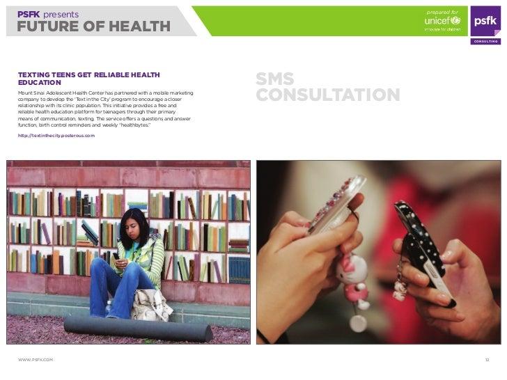 prepared for PSFK presents FUTURE OF HEALTH                                                                               ...