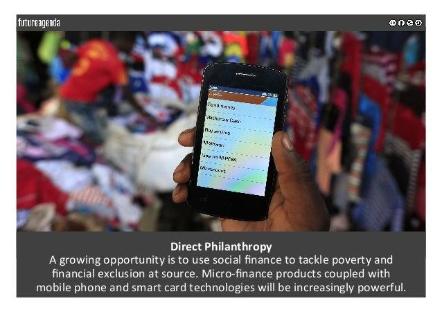 DirectPhilanthropy Agrowingopportunityistousesocialfinancetotacklepovertyand financialexclusionatsource.M...