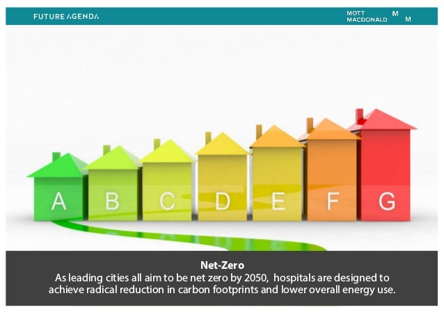 Net-Zero As leading cities all aim to be net zero by 2050, hospitals are designed to achieve radical reduction in carbon f...