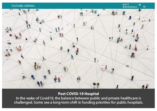 Post COVID-19 Hospital In the wake of Covid19, the balance between public and private healthcare is challenged. Some see a...