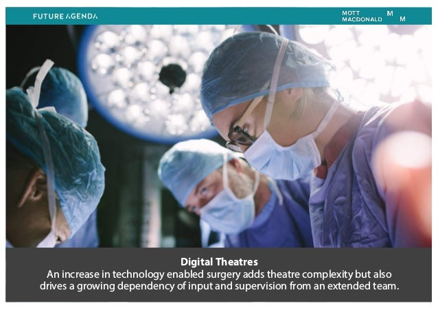 Digital Theatres An increase in technology enabled surgery adds theatre complexity but also drives a growing dependency of...