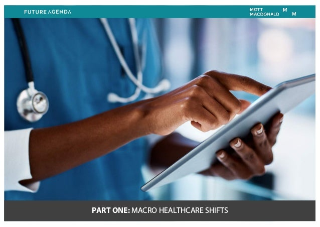 PART ONE: MACRO HEALTHCARE SHIFTS