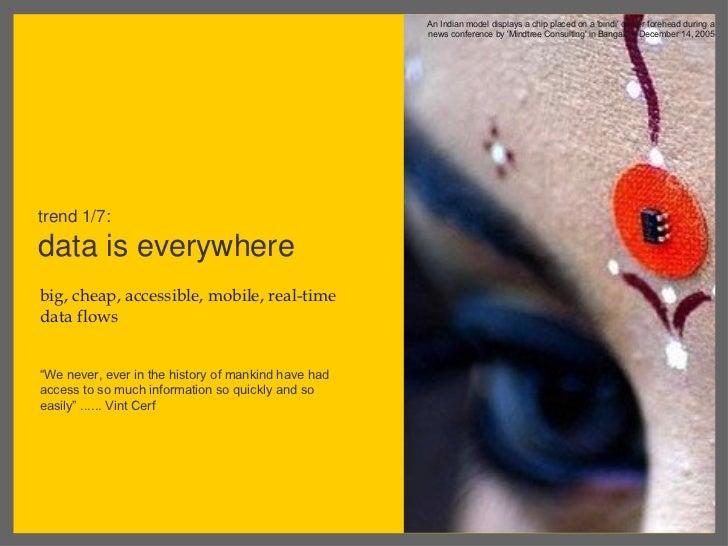Future of insights. dina mehta. april 3, 2012 india social summit Slide 3