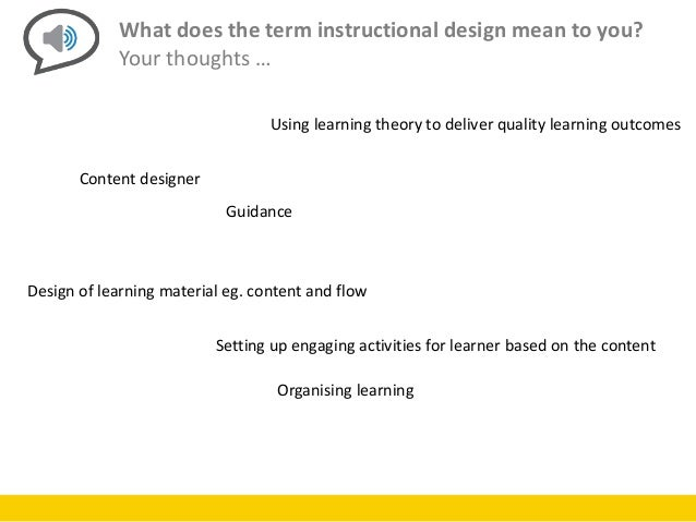 Future Of Instructional Design
