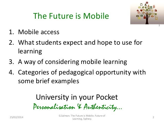 The Future is Mobile: Personalisation & Authenticity Slide 2