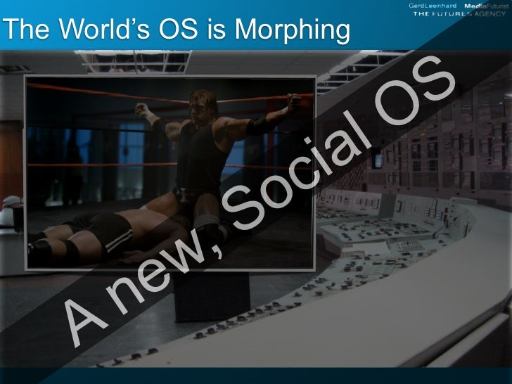 The World's OS is Morphing                              OS                       i al                    oc              ,...