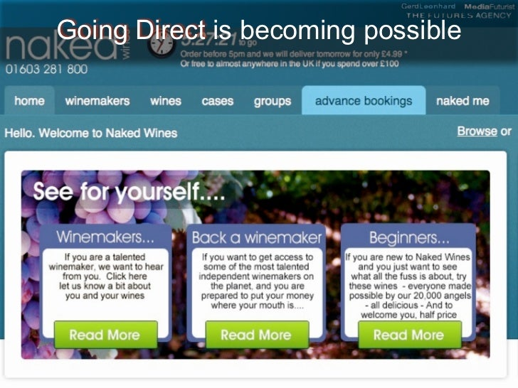 Going Direct is becoming possible