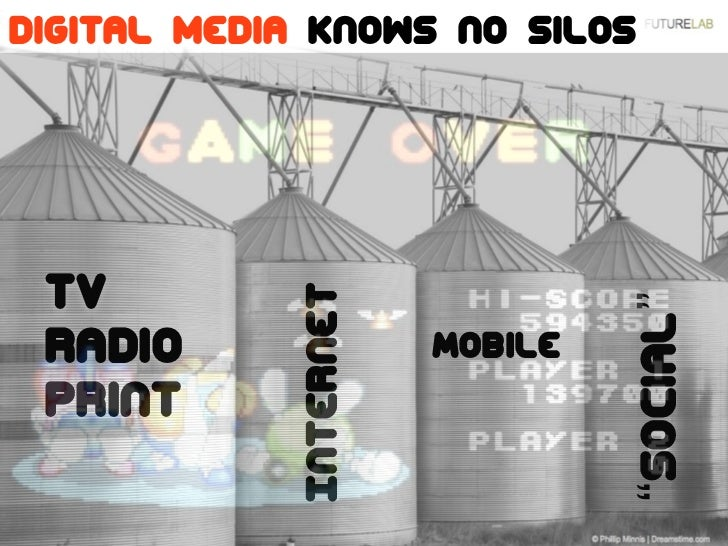 The future is already here!Digital media knows no silos TV                                Internet                        ...