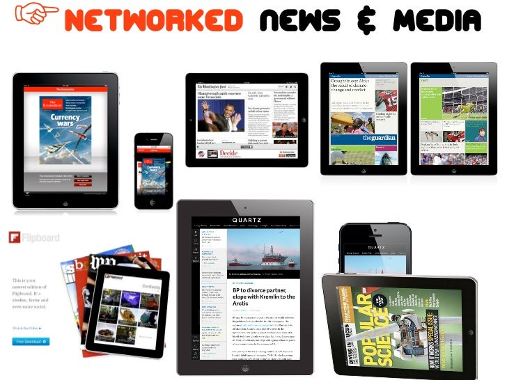 ☞ Networked   news & Media