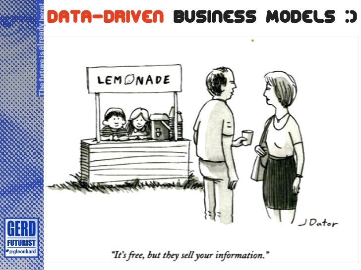 The future is already here!                              Data-Driven Business Models :)