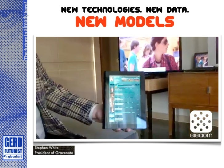 The future is already here!                              New technologies. New Data.                                 New M...