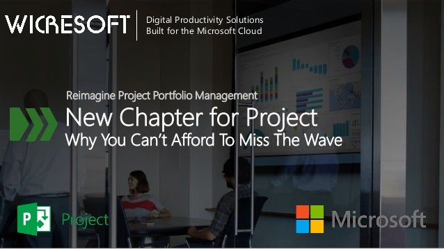 New Chapter for Project Why You Can't Afford To Miss The Wave Reimagine Project Portfolio Management Digital Productivity ...