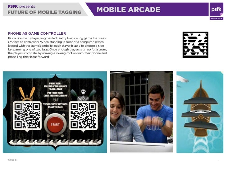 PSFK presents FUTURE OF MOBILE TAGGING                                      MOBILE ARCADE                                 ...