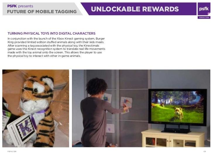 PSFK presents FUTURE OF MOBILE TAGGING                                       UNLOCKABLE REWARDS                           ...