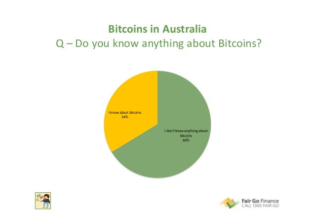 Bitcoins  in  Australia     Q  –  Do  you  know  anything  about  Bitcoins?   I  don't  know ...