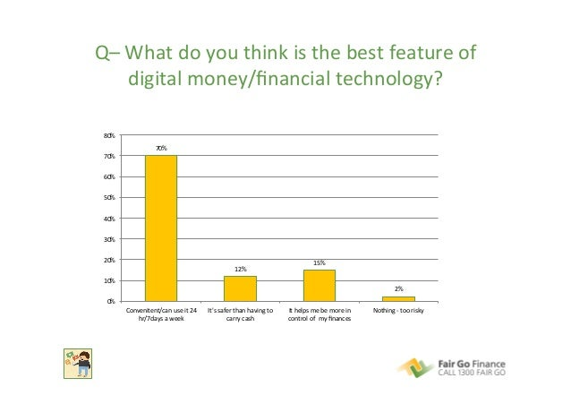 Q–  What  do  you  think  is  the  best  feature  of   digital  money/financial  technology?   70...