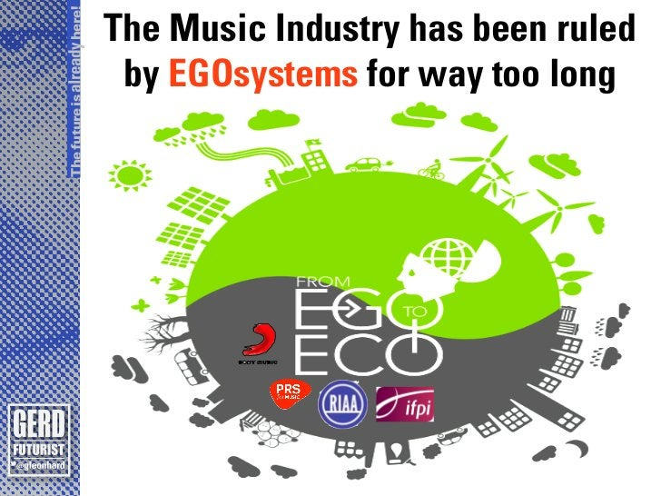 The future is already here!                              The Music Industry has been ruled                               b...