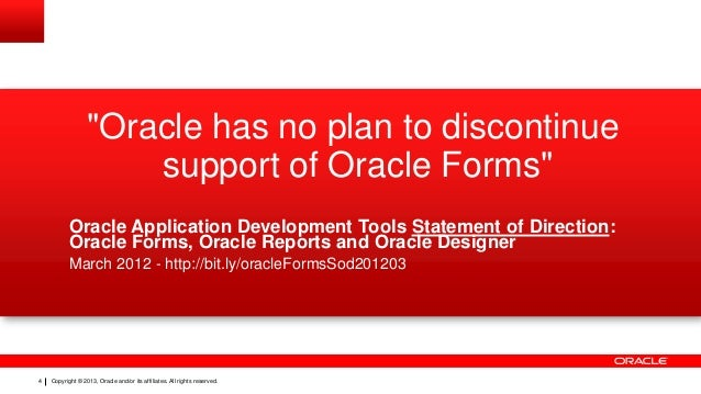 Future of Oracle Forms AUSOUG 2013