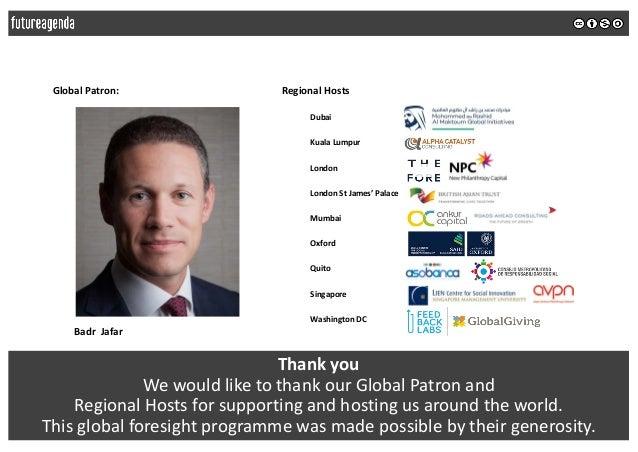Future of philanthropy 2018 - global insights summary Slide 3