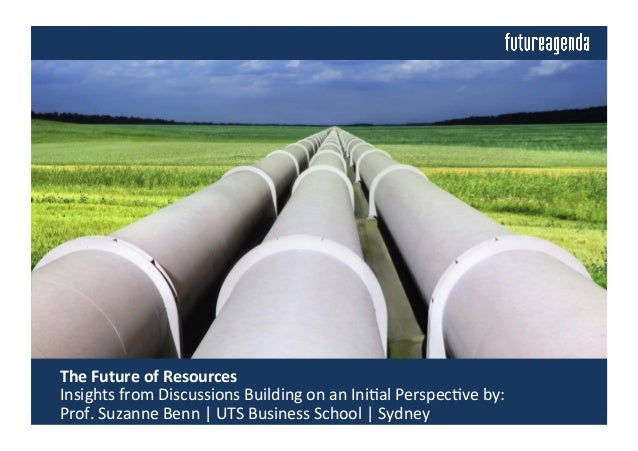 The	   Future	   of	   Resources	   	   	    	   Insights	   from	   Discussions	   Building	   on	   an	   Ini4al	   Per...
