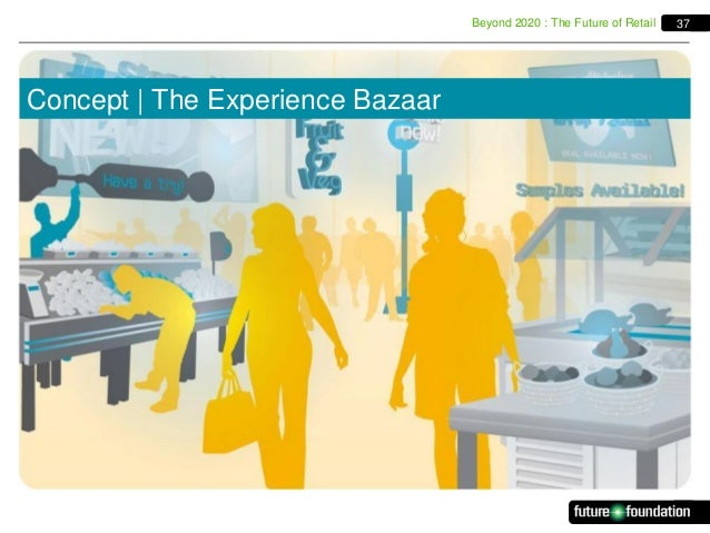 Beyond 2020 : The Future of Retail  Concept   The Experience Bazaar  37