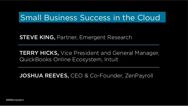 Small Business Success in the Cloud Slide 2