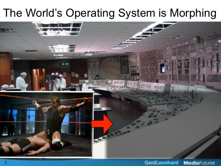 The World's Operating System is Morphing     3