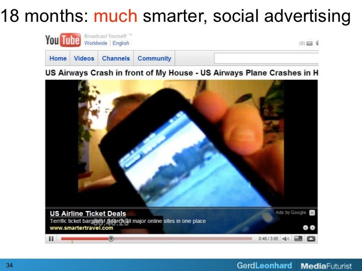 18 months: much smarter, social advertising     34