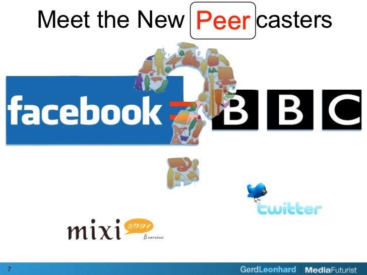 Peer     Meet the New Broadcasters     7