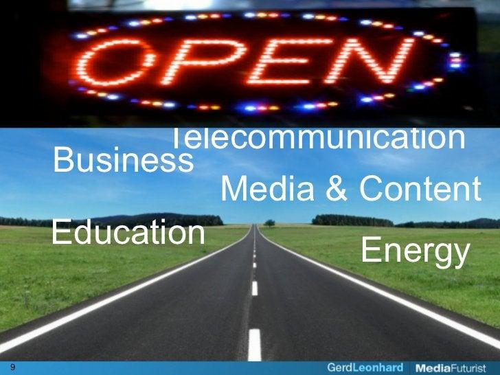 Telecommunication     Business               Media & Content     Education         Energy   9