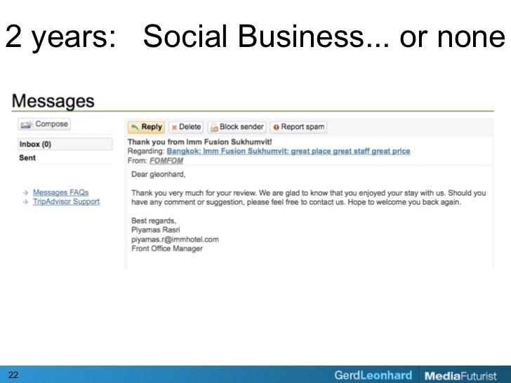2 years: Social Business... or none     22