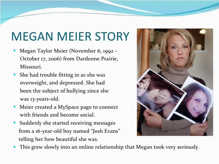 Megan Meier Josh Evans Messages