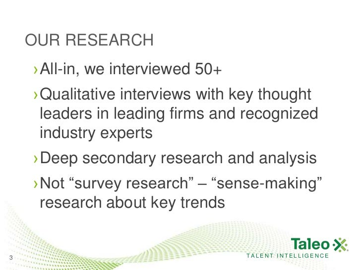 Future of talent management   drivers and trends Slide 3