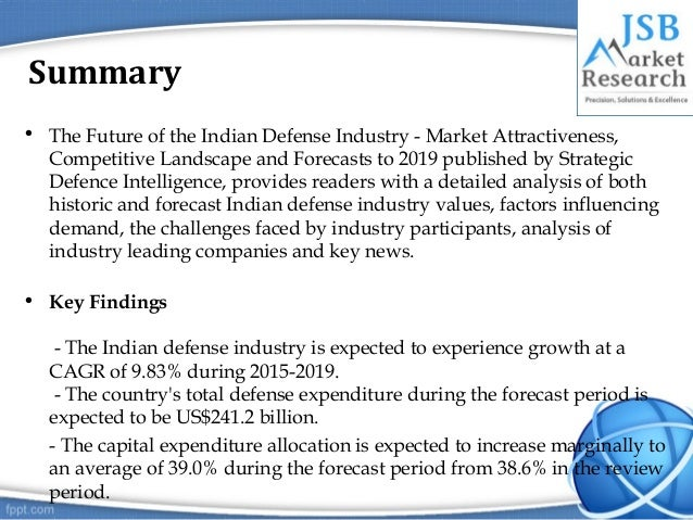 indian defense industry Presented by: jay prajapati deepak upadhyay dhruval patel chirag thakkar industry analysis of indian defence sector guided by: dr maurvi vasavada cms-ahmedabad.